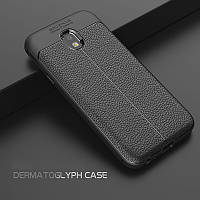 Чехол бампер Leather для Samsung J3 2017 J330