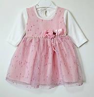 Платье для девочки (6-18 мес)