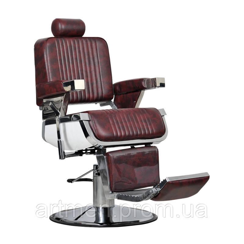 Кресло парикмахерское Barber bordo