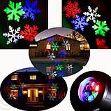 Лазерный/ LED проектор USA 2в1 40 узоров, фото 3