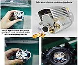 Лазерный проектор RGB 8в1  Елки, снежинки, звездочки 3 цвета (RGB2210), фото 3