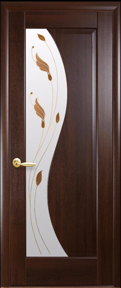 Межкомнатные двери Новый Стиль Эскада Р1 Каштан