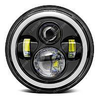 FB-002U Светодиодные LED фары 7 дюймов (Нива, УАЗ 469, ГАЗ 24, ВАЗ 2101, Хаммер, FJ Cruiser, w463, мотоцикл)