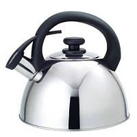 Чайник двойное дно, со свистком 2,5 л.Stenson MH - 0238
