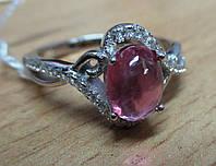 """Нежное колечко """"Розовое """" с розовым  рубином  , размер 17.4 от студии LadyStyle.Biz, фото 1"""