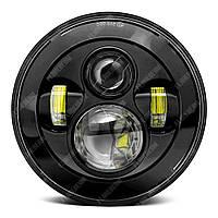 FB-001 Светодиодные LED фары 7 дюймов (Нива, УАЗ 469, ГАЗ 24, ВАЗ 2101, Хаммер, FJ Cruiser, w463, мотоцикл)