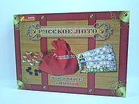 Настольная игра Русское лото Деревянные бочонки. Danko toys