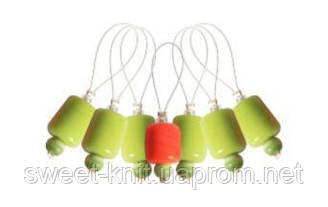 10936 Маркеры петель (7 шт) ZOONI Holly KnitPro  Маркеры петель ZOONI KnitPro, серия Holly. В комплекте 7 марк