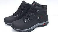 Кожанные мужские зимние ботинки  Columbia коламбия модель К3