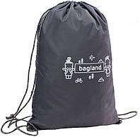 Рюкзак Bagland Котомка 8 л. Темно серый (00566152)