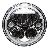 FB-V0528 Светодиодные LED фары 7 дюймов (Нива, УАЗ 469, ГАЗ 24, ВАЗ 2101, Хаммер, FJ Cruiser, w463, мотоцикл)