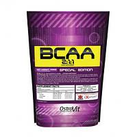 BCAA аминокислоты Ostrovit Extra Pure BCAA 2:1:1 (1000 г)