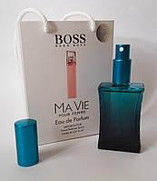 Мини парфюм Hugo Boss Boss Ma Vie Pour Femme в подарочной упаковке 50 ml (реплика)