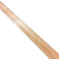 Плинтус фигурный сосна Дебо срощенный 2500х35х35 мм 1 сорт