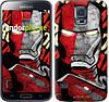"Чехол на Samsung Galaxy S5 Duos SM G900FD Iron Man ""2764c-62-532"""