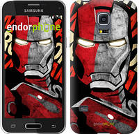 "Чехол на Samsung Galaxy S5 mini G800H Iron Man ""2764c-44-532"""