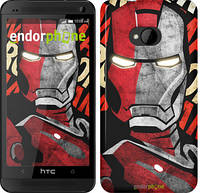 "Чехол на HTC One M7 Iron Man ""2764c-36-532"""