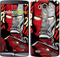 "Чехол на LG G3 D855 Iron Man ""2764c-47-532"""