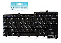 Оригинальная клавиатура для ноутбука DELL Inspiron 1501, M140, M1710, rus, black