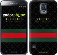 "Чехол на Samsung Galaxy S5 Duos SM G900FD Gucci 1 ""451c-62-532"""