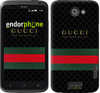 "Чехол на HTC One X Gucci 1 ""451c-42-532"""