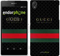 """Чехол на Sony Xperia Z2 D6502/D6503 Gucci 1 """"451c-43-532"""""""