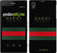 """Чехол на Sony Xperia Z1 C6902 Gucci 1 """"451c-38-532"""""""