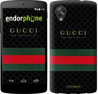 "Чехол на LG Nexus 5 Gucci 1 ""451c-57-532"""