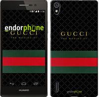 "Чехол на Huawei Ascend P7 Gucci 1 ""451c-49-532"""