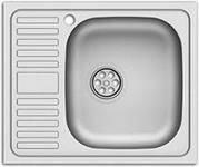 Мойка для кухни,левый и правый сушкой 50*60 0.6mm