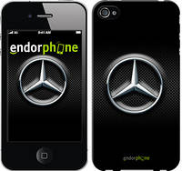 "Чехол на iPhone 4s Mercedes Benz 2 ""975c-12-532"""