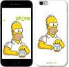 """Чехол на iPhone 6 Plus Задумчивый Гомер. Симпсоны """"1234c-48-532"""""""
