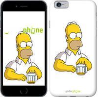 """Чехол на iPhone 6 Задумчивый Гомер. Симпсоны """"1234c-45-532"""""""