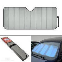 Sun shude big Car cover (metallic) стандарт для бусов (70 X 140 см)
