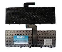 Оригинальная клавиатура для ноутбука DELL Inspiron 5520 Vostro 1540, 3550, XPS L502, rus, black