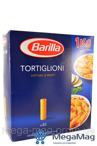 Макароны BARILLA Tortiglioni n.83 1кг, фото 2