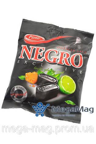 Конфеты PIONIR NEGRO Exclusive Lime, green tea & honey 100г, фото 2