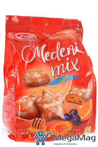 Медовый пряник PIONIR Honey Mix Fruity 150г, фото 2