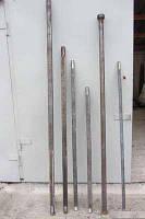 Вал батареи передний левый БГР-4,2 (СОЛОХА) (L=1265мм) (квадрат 40х40мм) БГР - 4,2.20.20.00.01