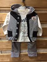 Детский костюм тройка на мальчика_Турция_оптом