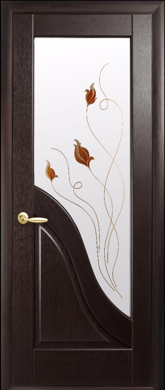 Міжкімнатні двері Новий Стиль Амата Р1 Венге new