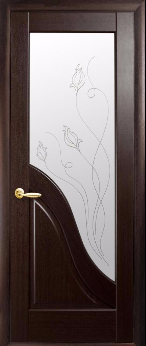 Міжкімнатні двері Новий Стиль Амата Р2 Венге new