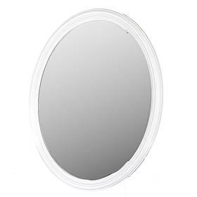 Зеркало белый овал 66 X 72 см 067Z