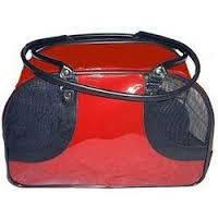 Сумка-переноска Pet Voyage 21509 Wilson (Вилсон) для котов и собак 38/29/24 см красная, фото 1