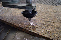 Гидроабразивная /фигурная  резка гранита