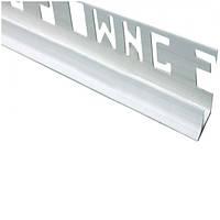 Уголок ОМиС 8x2500 мм внутренний белый