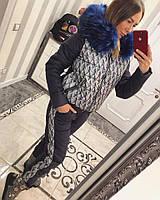 Зимний лыжный костюм Е-Лиса