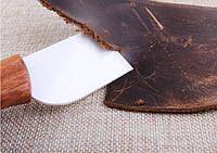 Нож для кожи керамический прямой