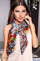 Шелковый принтованный платок