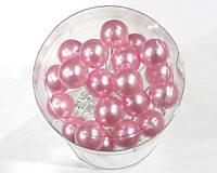 Шпильки для волос с розовой бусиной 20 шт/уп, фото 1